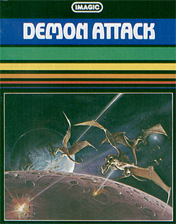 The cover of Demon Attack for the Intellivision