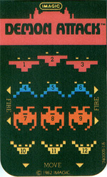 An overlay of Demon Attack for the Intellivision