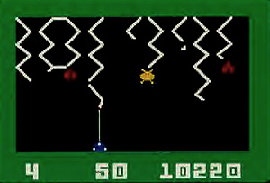 Screenshot of an unknown game for the Intellivision